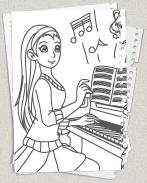 musik - ausmalbilder - kostenlose malvorlagen für