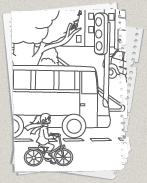 Verkehr Ausmalbildercom Kostenlose Malvorlagen Für Kinder Zum